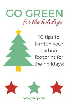 How to Go Green for the Holidays