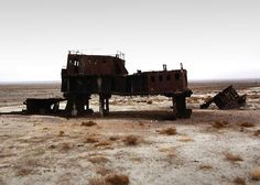 Rusting shipwreck: Waiting for the sea It took just 40 years for the Aral Sea to dry up. Fishing ports suddenly found themselves in a desert. But in one small part of the sea, water is returning.