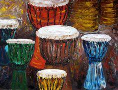 Drumming lifts my spirit!