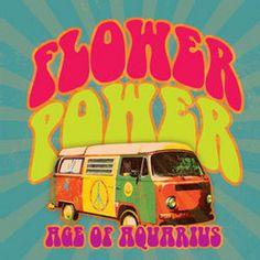 Flower Power VW van age of aquarius Hippie Style, Hippie Love, Hippie Art, Hippie Vibes, Hippie Chic, Boho Chic, Bohemian, Volkswagen, Vw Bus