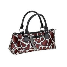 The Giraffe Insulated Wine Purse is a single bottle wine clutch tote that looks like a purse. Giraffe Wine Purse Bag has a thermal insulated compartment to keep your wine bottle chilled. The wine clutch comes with a stainless steel corkscrew in the side pocket.