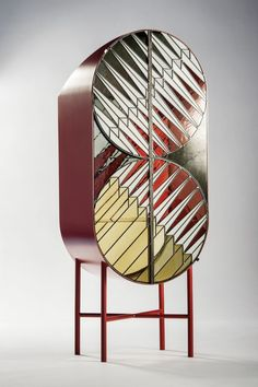 <p>Patricia Urquiola's design studio creates exquisitely graphic furniture with unusual concepts. The 'Visioni' carpet from CC Tapis resembles a 3D structure thanks to asymmetry and bold u