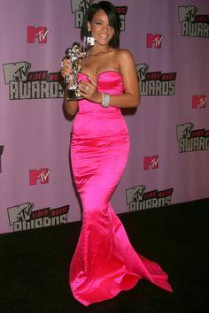 Rihanna At The MTV Video Music Awards, 2007