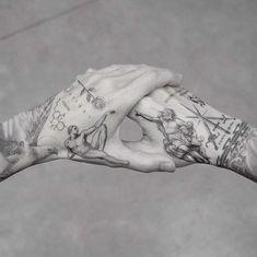 My best friend M R.k_tattoo 💥💥 - Hand Nail Design FoR Women Hand Tattoos For Guys, Finger Tattoos, Body Art Tattoos, Tattoos For Women, Sleeve Tattoos, Tatoos, Men Tattoos, Mens Hand Tattoos, Best Tattoos For Men