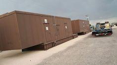 Sound  Attenuated Generator Enclosure for 3516B 2000kw 3000 GALLON BASE TANK…