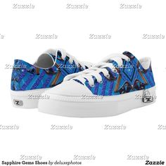 Sapphire Gems Shoes Printed Shoes