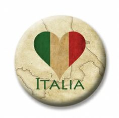 """Italy 4 (Magnetic) Design insert  that fits into 1""""Magnabilities interchangeable jewelry."""