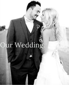 Our Wedding! via sincerelyarizona.blogspot.com