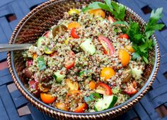 Quinoa Tabbouleh #gl