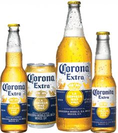 """Corona ExtraAlso known as """"Corona with a Wedge of Lime Stuffed In It."""" And """"The Beer in that Commercial Where the Beach Appears Out of Nowhere and Everyone is Happy."""" AB InBev brewed million barrels of it in up from million in Corona Extra, Corona Beer, Beer Prices, Most Popular Beers, Ab Inbev, Canadian Contests, Mexican Beer, Beer Girl, Keep Calm And Drink"""