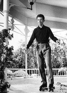 Donald O'Connor. The first man to tap dance on roller skates!...amazing