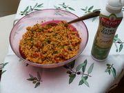 Kochen mit den Bertolli Olivenöl-Sprays Sprays, Macaroni And Cheese, Grains, Rice, Ethnic Recipes, Food, Simple, Kochen, Mac Cheese