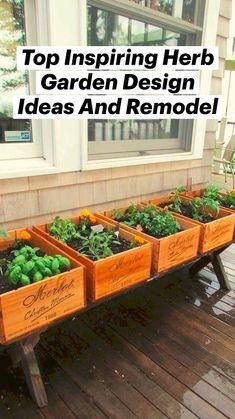 Herb Garden Design, Small Garden Design, Garden Edging, Garden Planters, Lawn And Garden, Garden Art, Backyard Kitchen, Modern Backyard, Backyard Ideas