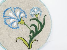 Embroidery Hoop Art  Vintage Style Turkish by Lylaaccessories, $33.00