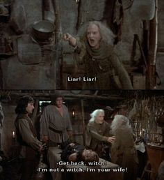 The princess bride <One of the only movies that can get away with a man calling his wife a witch Princess Bride Quotes, The Princess Bride, Funny Movies, Great Movies, Tv Quotes, Famous Movie Quotes, Quotes By Famous People, People Quotes, Funny Quotes