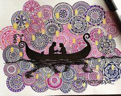 69 super ideas for drawing cute disney artists Mandala Doodle, Mandala Art Lesson, Doodle Art Drawing, Art Drawings Sketches, Disney Drawings, Cute Drawings, Sharpie Drawings, Drawing Disney, Disney Doodles