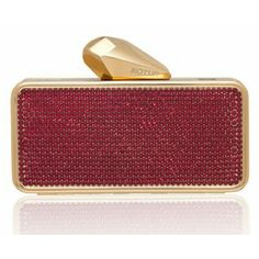 #Getsmartbag Minaudiere for your iphone | Red - Siam Swarovski Crystals | Exclusive online edition for www.koturltd.com | #KOTUR #Swarovski #Siam