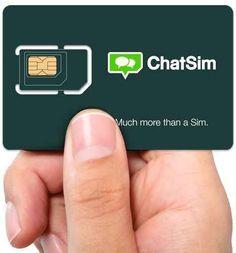 Esta tarjeta SIM internacional para mensajes de texto ilimitados ($10 USD por año)