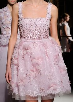 #Georges Hobeika S/S 2013 Couture Runway #Details