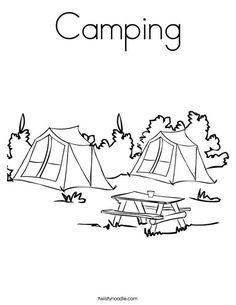 Camping Out with a Good Book Banner Camping Themed Classroom