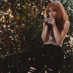 Picture of Danielle Victoria Perry Danielle Victoria, Lily Evans, Hairstyles With Bangs, Look Cool, Hair Inspo, Pretty People, Redheads, Red Hair, At Least
