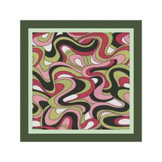 16 x 16 Retro Swirls  Square Pillow Cover by DPeaGreenDesigns, $5.00. Digital download :)