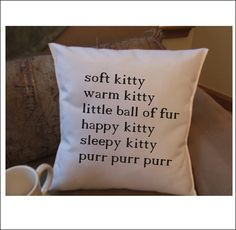 Big bang quote graphic throw pillow cover, decorative throw pillow cover, soft kitty pillow on Etsy, $14.99