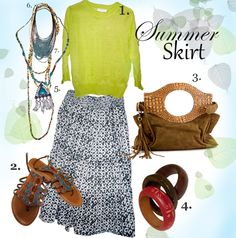 Style Inspiration: Update last years skirt and look fabulous on a budget!