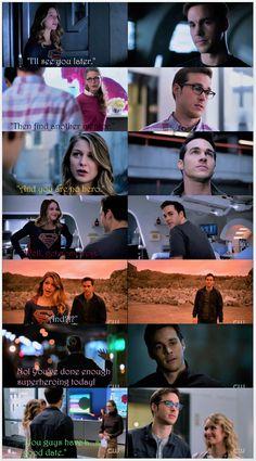 Mon-El watching Kara leave is always super (no pun intended) cute. |TV Shows||#Supergirl edit||Season 2||2x04||2x05||2x06||2x08||2x09||2x10||2x11||Kara x Mon-El||#Karamel||Kara Danvers||Melissa Benoist||Chris Wood||Collage|