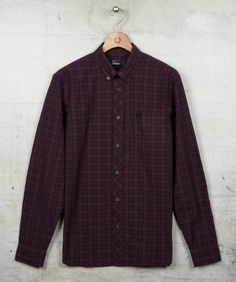 Fred Perry - Overdyed Culloden Tartan Shirt