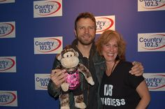 Me & Dierks Bentley  dierksfan01876 respresenting the DB Congress from MA  3rd M  February 2012