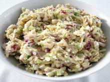 Tuniakový šalát so stopkovým zelerom Fodmap Diet, Food Inspiration, Risotto, Potato Salad, Low Carb, Keto, Vegetables, Cooking, Healthy