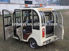 Three Wheel Motorcycle Electric Passenger Tuc Tuc With Cabin