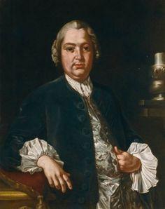 Portrait of the Composer Niccolò Jommelli - Giuseppe Bonito - The Athenaeum