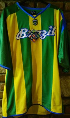Delf Embroidered Brazil Jersey 2xl Oversized Fits  f070f5f52
