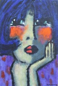 Girl Face Drawing, Face Art, Painting People, Figure Painting, Picasso Art, Abstract Portrait, Artist Gallery, Painting Inspiration, Art Images