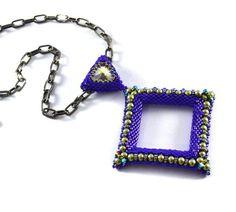 Liisa Turunen Designs - Mau Pendant Beading Kit Royal Purple, $59.00 (http://www.liisaturunendesigns.com/mau-pendant-beading-kit-royal-purple/)
