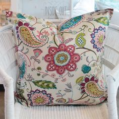 Rio Floral - 60 x 60 - Inside Out Home Boutique. Not in stock - Available for order online at www.insideouthb.co.za