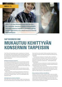 Menestystarina on tuttu ja turvallinen – mutta erittäin toimiva – keino B2B-markkinoinnissa. Olen tehnyt niitä monille firmoille, tässä asiakkaana SAP Finland. AD Julia Alakulju.