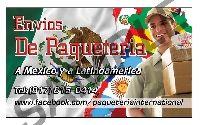 PAQUETERIA A MEXICO Y CENTROAMERICA