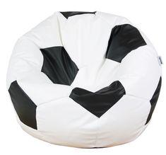 Woodlii Saccosäck Sport Fotboll Large Vit/Svart