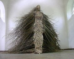 ARTISTIC QUIBBLE |  Figurative Willow Branch Sculpture by Olga...