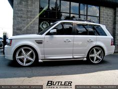 Range Rover Sport with 24in Savini SV8 Wheels | Flickr - Photo Sharing!