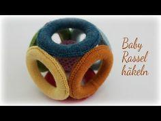 Crochet Game, Diy Crochet, Crochet Toys, Montessori Baby Toys, Baby Sense, Knitting Videos, Baby Rattle, Baby Kind, Crochet Flowers