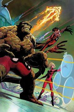 Fantastic Four by Jerome Opeña