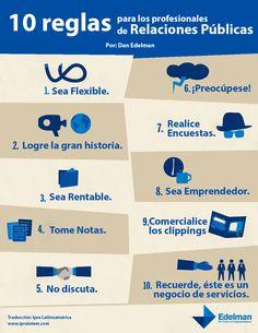 10 Reglas para los profesionales de Relaciones Públicas.