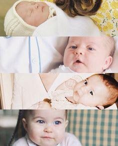 deargeorge:  Princess Charlotte of Cambridge, May-November 2015