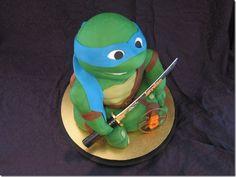 teenage mutant ninja turtle cake ideas   Cowagunga, Dude! It's A Teenage Mutant Ninja Turtle Cake!