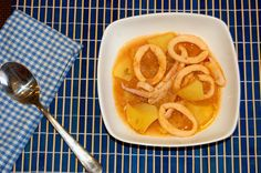 Guiso de Calamares y patatas