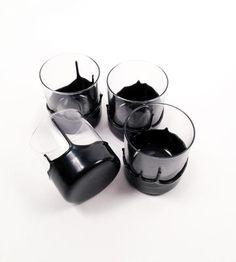 Dripped Glassware